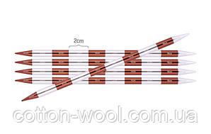 Спиці шкарпеткові KnitPro Smartstix 20 см №2,5