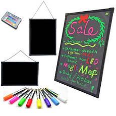 Флуоресцентная доска Fluorecent Board 3040 с фломастером и салфеткой PR4, фото 2