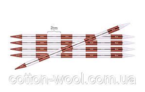 Спиці шкарпеткові KnitPro Smartstix 20 см №8,0