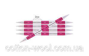 Спиці шкарпеткові KnitPro Smartstix  укорочені (14см) №2,25