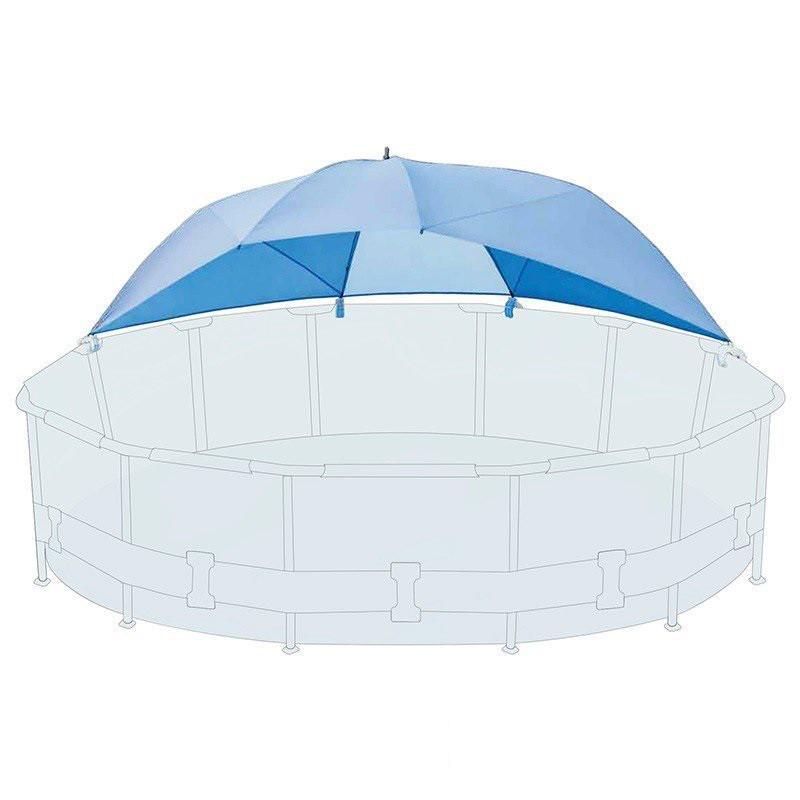 Тент-зонтик Intex 28050 для бассейна, навес - лавсан бассейнам от 366 см до 549 см
