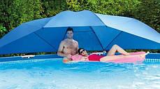 Тент-зонтик Intex 28050 для бассейна, навес - лавсан бассейнам от 366 см до 549 см , фото 3