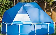 Тент-зонтик Intex 28050 для бассейна, навес - лавсан бассейнам от 366 см до 549 см , фото 2