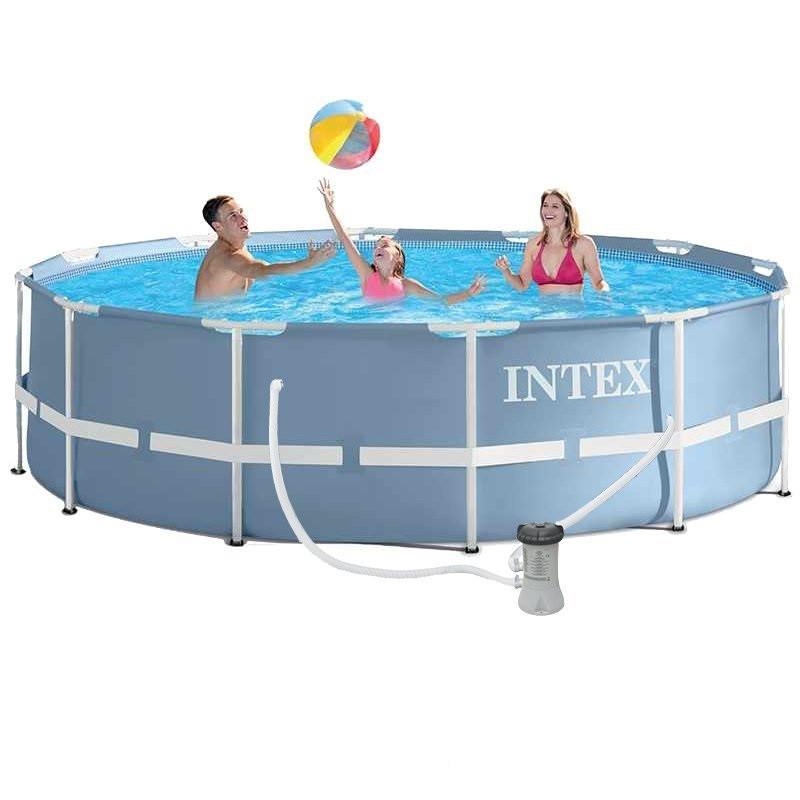 Каркасный бассейн Intex 28712, 366 x 76 см (насос фильтр 2 006 л/ч)