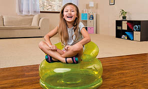 Надувное кресло Intex 48509 цвета голубой, фото 2