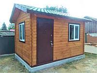 Дом деревянный  3х4 м из профилированного бруса с бесплатной доставкой и монтажем по Украине