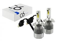 Комплект автомобільних LED ламп C6 H4 5538