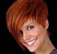 Термо парик хорошего качества цвет рыжий