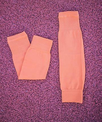 Гетры без носка Оранжевые 1039, фото 2