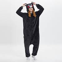 Пижама Кигуруми медведь Кумамото  S, М, L, XL (Кумамрн)