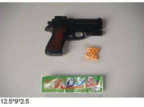 Пистолет 231-4 с пульками свет.кул.12.5*9*2.5 ш.к.JH100527072PB/720/