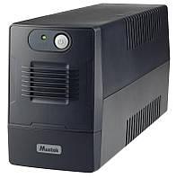 MUSTEK ДБЖ Mustek PowerMust 600 EG Li ne Int. 650VA/360W 2xSchuko 600-LED-LIG-T10