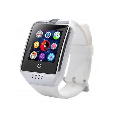 Умные смарт часы Smart Watch Q18 белые, фото 2