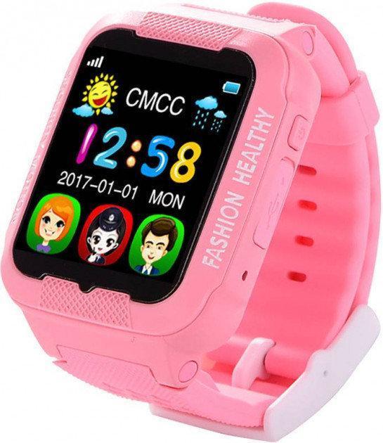Смарт-часы Smart Watch К3, часы смарт вач К3, умные часы розовые защита от воды, защита от ударов