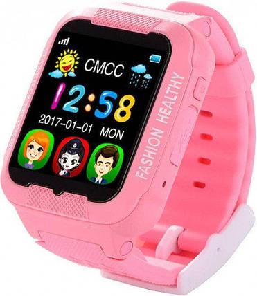 Смарт-часы Smart Watch К3, часы смарт вач К3, умные часы розовые защита от воды, защита от ударов, фото 2
