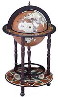 Глобус бар напольный на 3х ножках 330 мм 33001N-M