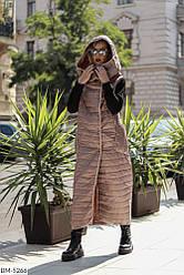 Женская жилетка безрукавка жилет плащевка 42 44 46 размеры Новинка