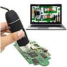 Цифровой USB OTG микроскоп 1600Х на стойке с присоской. USB микроскоп для смартфона, фото 2