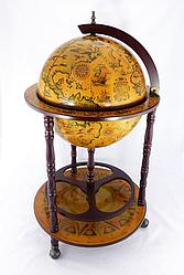 Глобус бар підлоговий на 3 ніжки 420 мм коричневий 42001R