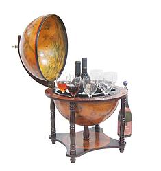 Глобус бар на 4-х ніжках 360 мм коричневий 36006R