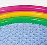 Детский надувной бассейн Intex 58924-1 «Радуга», с шариками 10 шт, 86 х 25 см , фото 4