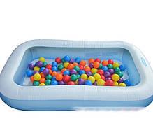 Детский надувной бассейн Intex 57403, 166 х 100 х 28 см , фото 3