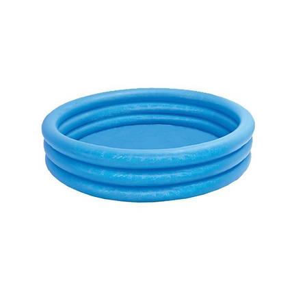 Детский надувной бассейн Intex 59416 «Кристалл», 114 х 25 см , фото 2