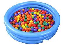 Детский надувной бассейн Intex 59416 «Кристалл», 114 х 25 см , фото 3