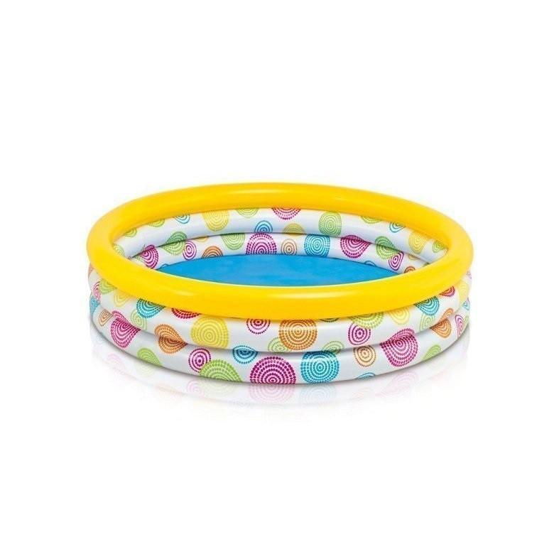 Детский надувной бассейн Intex 59419 «Геометрия», 114 х 25 см