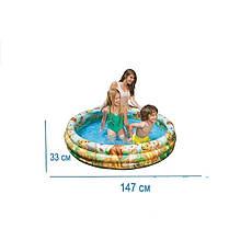 Детский надувной бассейн Intex 58420 «Король Лев» , фото 3
