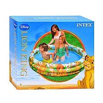 Детский надувной бассейн Intex 58449 «Геометрия», 168 х 38 см , фото 3