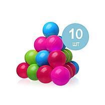 Детский надувной бассейн Intex 57124-1 «Улитка» с навесом, с шариками 10 шт 145 х 102 х 74 см Надувное дно, фото 2