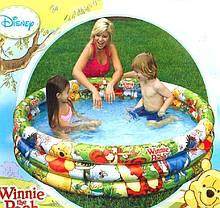 Детский надувной бассейн Intex 58915 «Винни Пух», 147 х 33 см , фото 3
