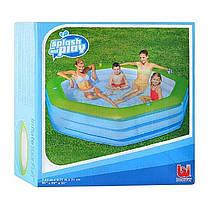 Детский надувной бассейн BestWay 54119, 251 х 251 х 51 см, фото 3