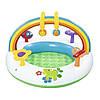 Детский надувной центр Bestway 52239 «Радуга», 94 х 56 см, с игрушками , фото 6