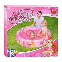 Детский надувной бассейн BestWay 92011 «Винкс», 122 х 25 см , фото 3