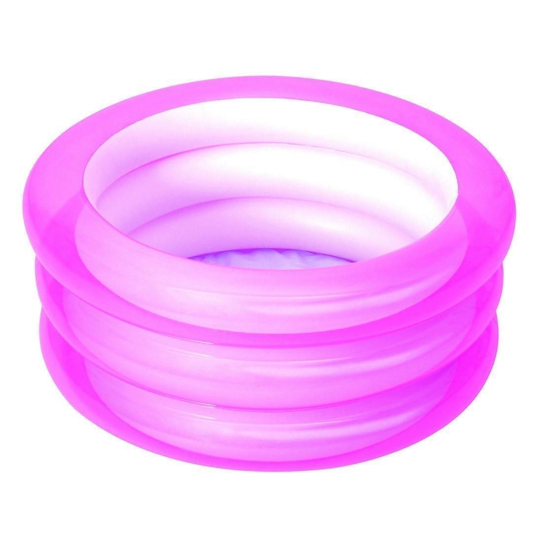 Детский надувной бассейн BestWay 51033, розовый, 70 х 30 см