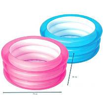 Детский надувной бассейн BestWay 51033, розовый, 70 х 30 см , фото 3