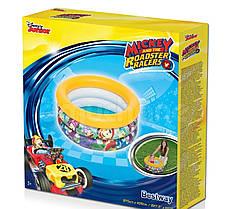 Детский надувной бассейн Bestway 91018 «Микки Маус», 70 х 30 см (желтый) , фото 3