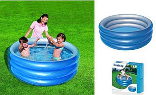 Детский надувной бассейн Bestway 51041 «Метталик», 150 х 53 см , фото 2