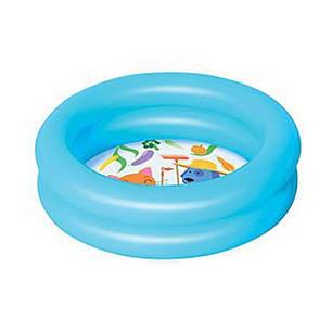Детский надувной бассейн BestWay 51061, голубой, 61 х 15 см  , фото 2