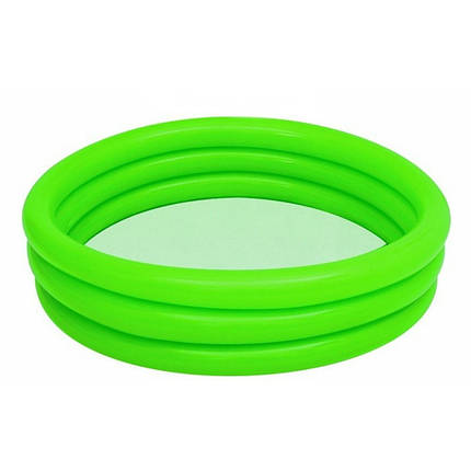 Детский надувной бассейн Bestway 51025, зеленый, 122 х 25 см , фото 2