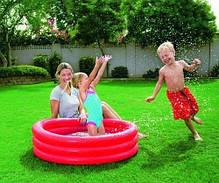 Детский надувной бассейн Bestway 51027, зеленый, синий, красный 183 х 33 см , фото 3