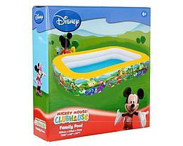 Детский надувной бассейн Bestway 91008 «Микки Маус», 262 х 175 х 51 см, фото 3