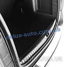 Накладка в багажник на Рено Дастер 2018+ Защитная накладка в багажник для Renault Duster с 2018