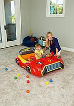 Детский центр-кровать Bestway 93404, «Тачки» 135 х 99 х 43 см, с шариками 25 шт , фото 3