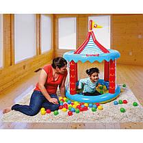 Детский игровой домик Bestway 93505 «Цирк», 137 х 104 см, с шариками 25 шт , фото 3