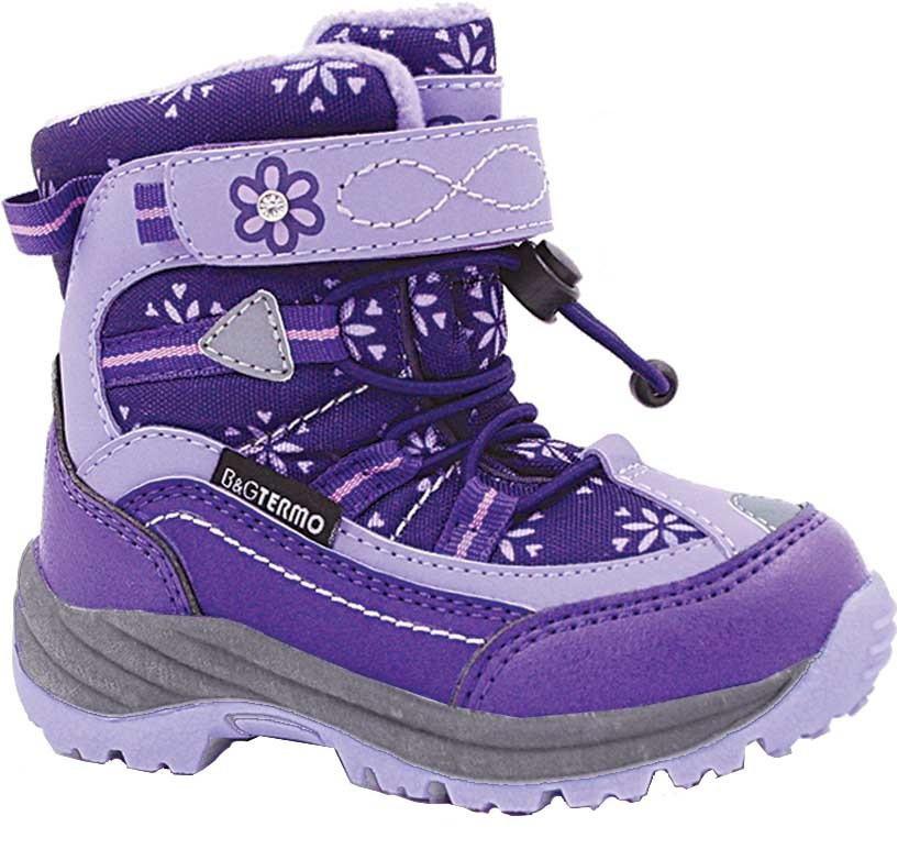 Термо черевики B&G termo. Розміри 23, 24, 27.
