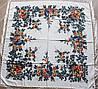 Платок шерстяной павлопосадский (120см) 607033, фото 2