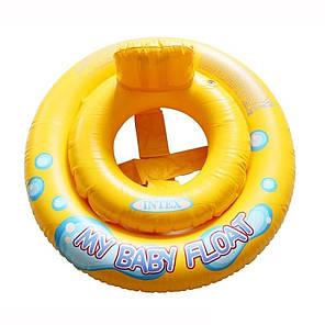Детский надувной плотик для плавания Intex 59574, 67 см , фото 2
